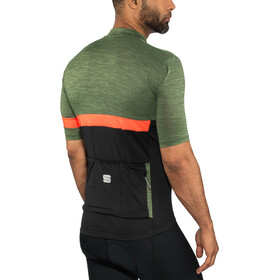 Sportful Giara Jersey Men dry green/black/orange sdr